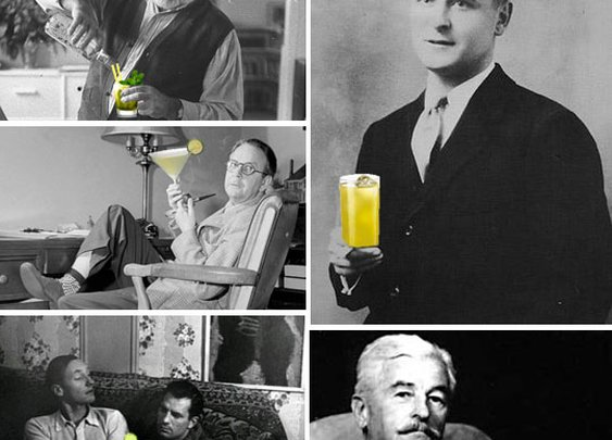 Literary Drinks:  10 Famous Fiction Writers and Their Cocktails  | The Kitchn