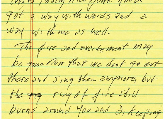 A Love Letter from Johnny Cash to His Wife