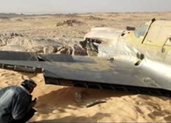World War II Fighter Plane Found in the Sahara Desert After 70 Years