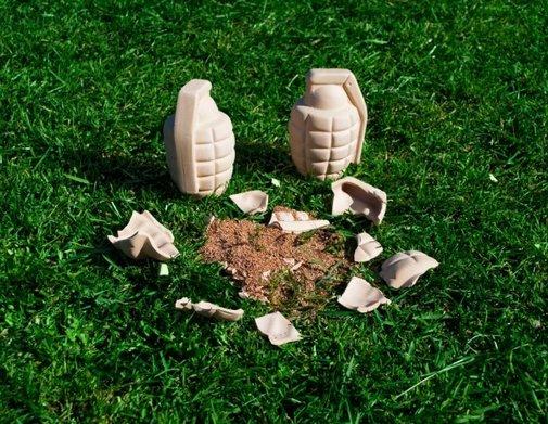 Flower Grenade: Biodegradable Gardening  : Origin of Cool