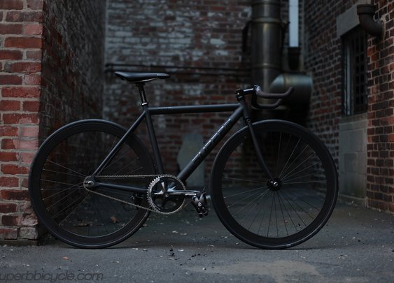 Superb Sprint: Matte Black Custom.