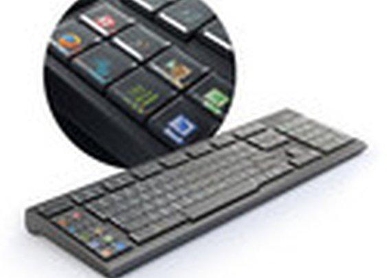 ThinkGeek :: Optimus Maximus Keyboard