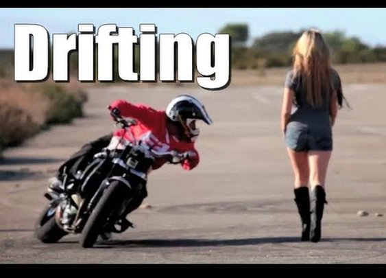 Drifting Motorbike - Drift Gymkhana - Jorian Ponomareff      - YouTube