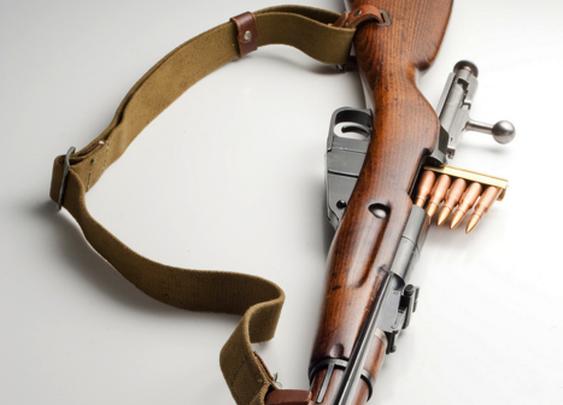 Mosin nagant m44 carbine.