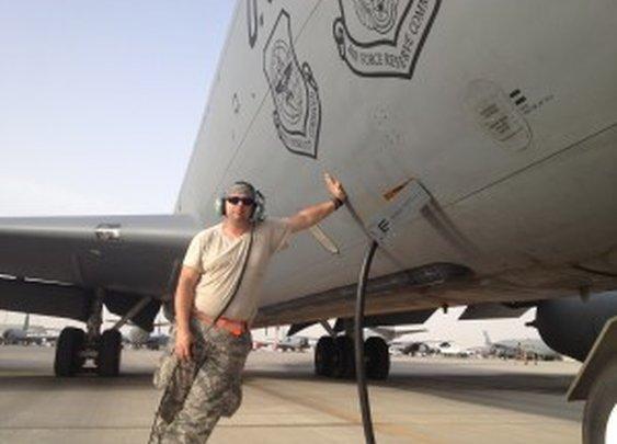 Always be prepared - KC135 fireball!