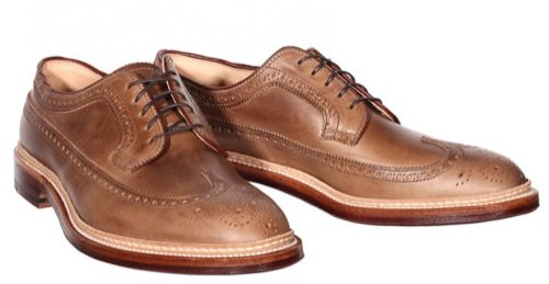 Alden for Epaulet Natural Chromexcel Longwing | Por Homme - Men's Lifestyle, Fashion, Footwear and Culture Magazine