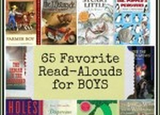65 Favorite Read-Aloud Books for Boys: Reader's Choice | 4tunate
