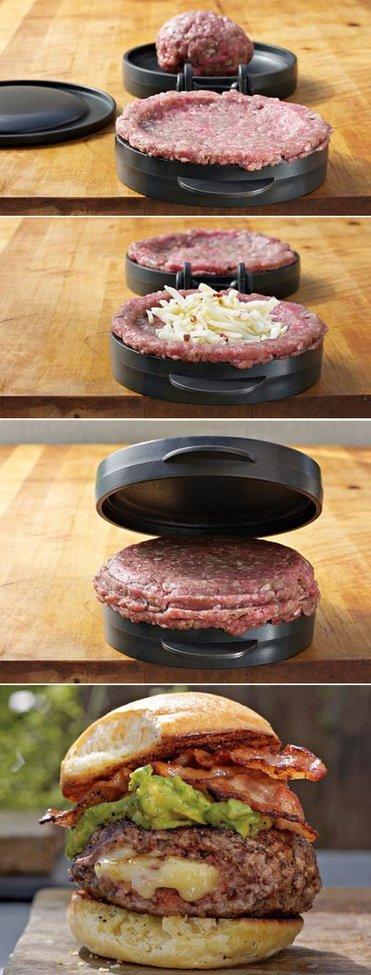 Stuffed Hamburger Press