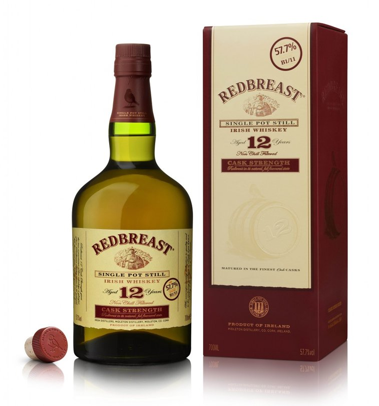 Redbreast 12 year old Cast Strength Irish whiskey