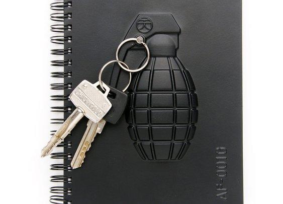 Grenade Armed Notebook
