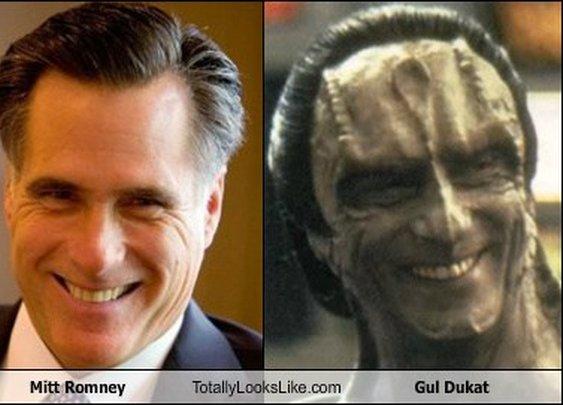 Mitt Romney & Gul Dukat Separated at Birth