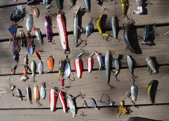 Lot of 140 fishing lures by SharpenedAxe on Etsy