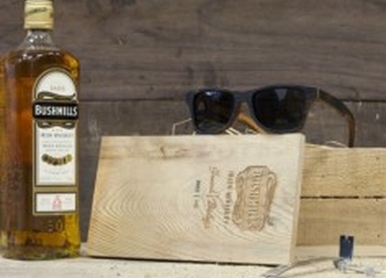Sunglasses Crafted From Bushmills Whiskey Barrels
