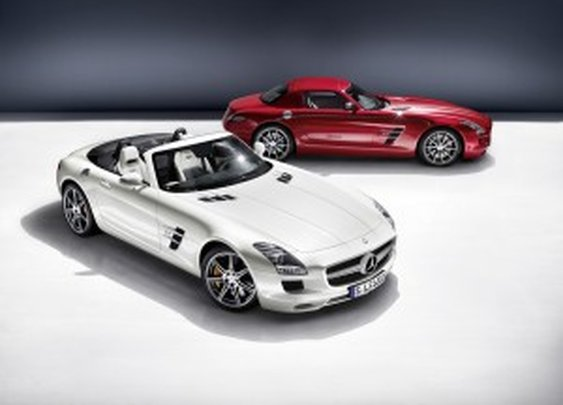 Mercedes-Benz SLS AMG Coupe and Roadster