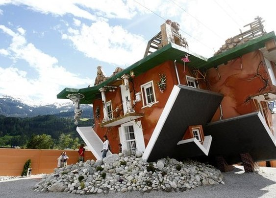Upside Down House in Austria | Unusual Places