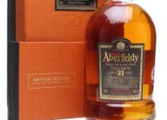 Aberfeldy 21 Year Old Highland Single Malt Scotch Whisky