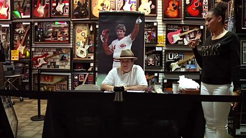 8 Minutes with Pete Rose