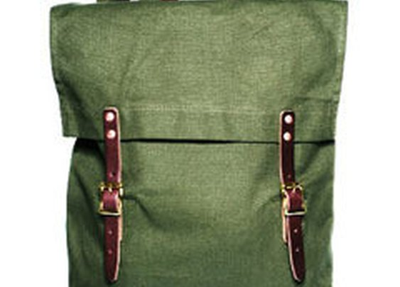Duluth Pack Canvas Tote Backpack (Green)