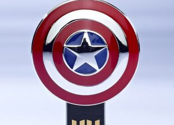 Captain America USB drive