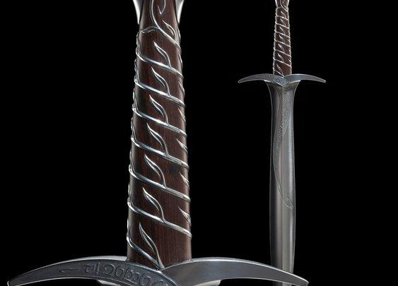Bilbo's Sword Sting: Fine Art Limited Edition
