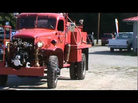 1942 Chevrolet Military 4x4 Fire Truck