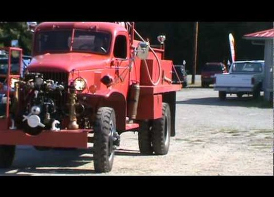 1942 Chevrolet Military 4x4 Fire Truck
