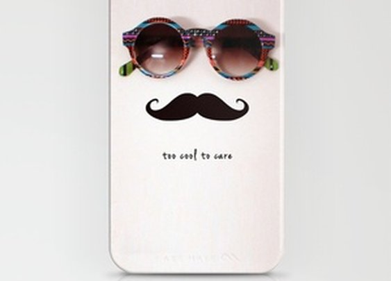 je m'en fou iPhone Case by Basilique | Society6