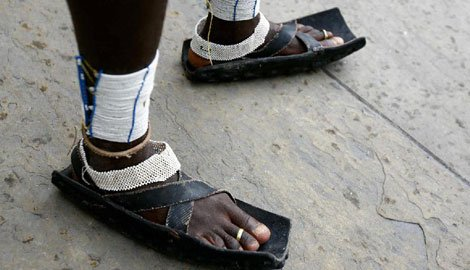 The Masai Running Shoe