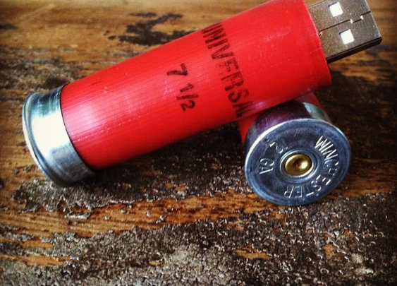Shotgun Shell 1 GB USB