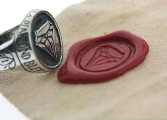 catbird::Digby + Iona::Diamond Signet Ring