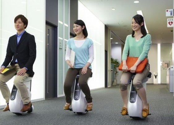 Striking a balance: Honda unveils UNI-CUB mobility device