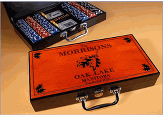 Cabin Series Poker Set