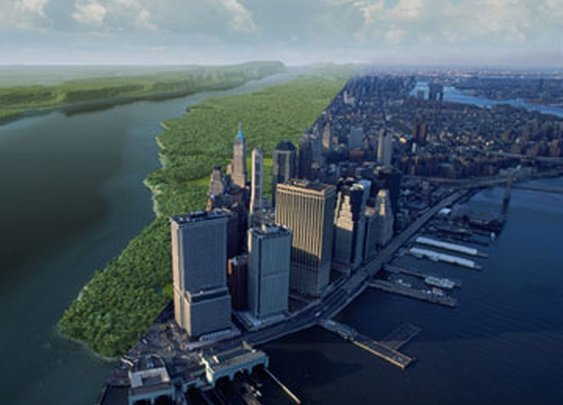Mannahatta Project - Exploring Manhattan in 1609 - The Daily Green
