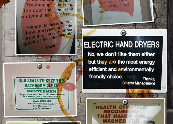 Funniest Bathroom Signs | Brought to You By Rotorooter.com