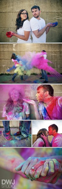 Sam & Eric : Paint Wars » Chicago Wedding Photography Blog | DWJ Studio
