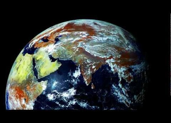 Planet Earth's Northern Hemisphere 121 Megapixels