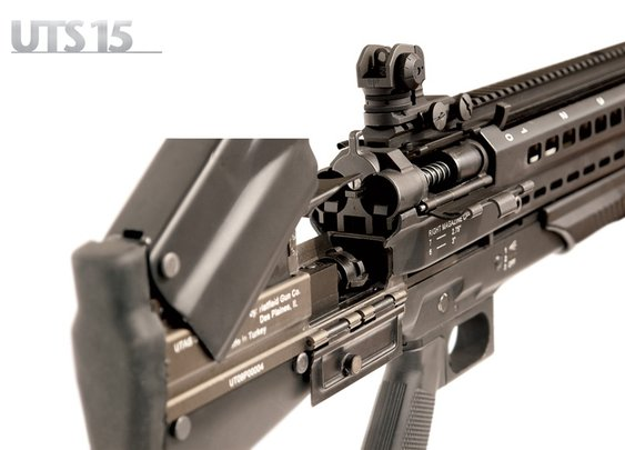Defense Review -   UTAS UTS-15 Shotgun: High-Capacity (14+1) Bullpup Dual-Feed Pump-Action Tactical/Combat Shotgun