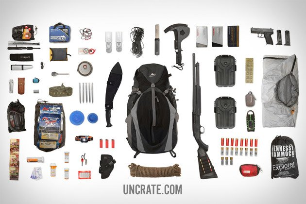 Equipment: Bug-Out Bag | Uncrate | Gentlemint