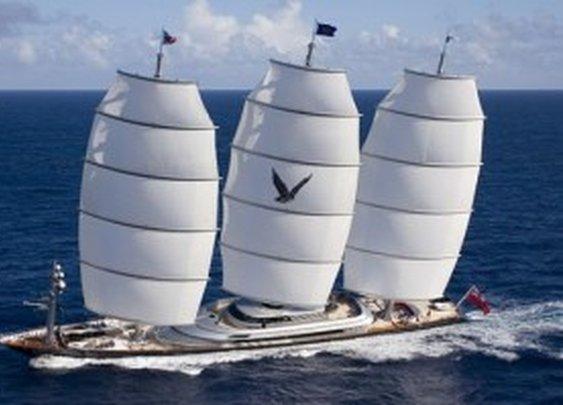 My next boat!  The Maltese Falcon.