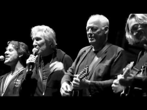David Gilmour, Roger Waters, and Nick Mason Behind The Scenes O2 Arena 2011