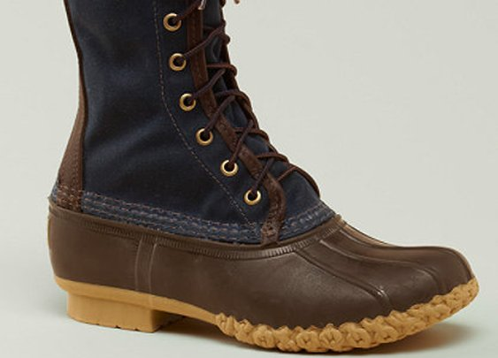 Waxed Canvas Maine Hunting Shoe, Men's: FOOTWEAR | Free Shipping at L.L.Bean Signature