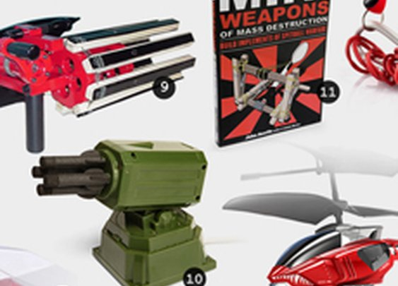 13 Weapons for Cubicle Warfare | Cool Material