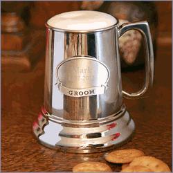 Pewter Medallion Mug