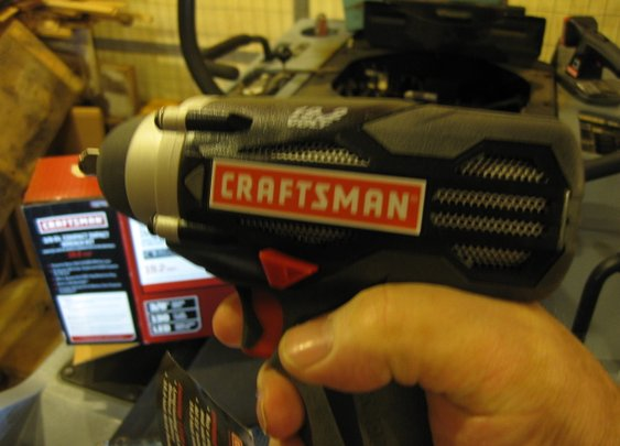 New Craftsman 3/8″ Compact Cordless Impact Wrench