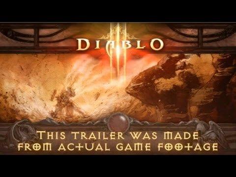 Diablo III EXCLUSIVE Gameplay Trailer [HD]      - YouTube