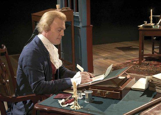 Thomas Jefferson Lap Desk  by PennStateWoodWork