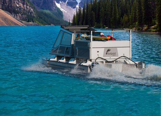 Footprint Boats - Boat & Tent Trailer All in One