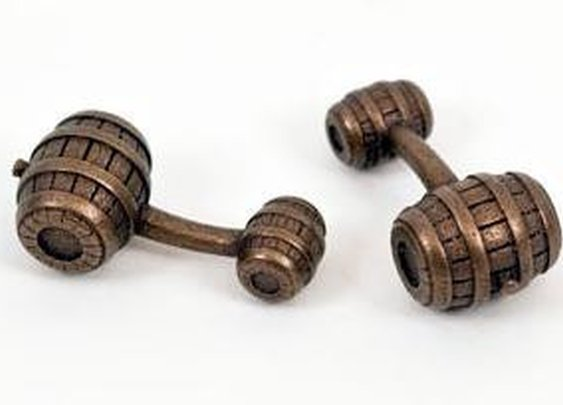 Toasted - Barrel Cufflinks — GothamSmith LTD