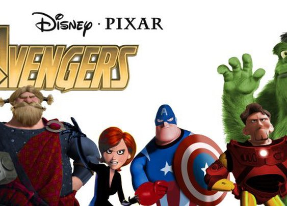 The Avengers, if they were done by Pixar