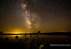 DakotaLapse.com Milky Way, Night Time lapse — Timelapse Night and Milky Way video and stock footage